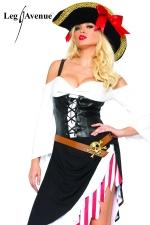 Costume sexy Pirate : Le Pirate au féminin, gare à l'abordage !