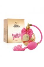 Parfum aphrodisiaque Bubble Gum : Parfum sans alcool, arôme Bubble Gum intense et distrayant, applicable sur toutes les parties du corps, même les plus intimes.