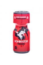 Poppers Red Dominator 10ml : Arôme aphrodisiaque ultra puissant au Nitrite d'Amyle, fabriqué en France par le laboratoire Jolt(flacon de 10 ml).