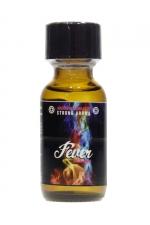 Poppers Fever 25ml : Arôme d'ambiance fort hybride, à base d'Amyle et de Propyle, en flacon de 25 ml, fabriqué en France par Jolt.