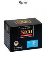 50 préservatifs Sico MARATHON : 50 préservatifs haute qualité bénéficiant d'un enduit à base de Benzocaine ayant un effet retardateur d'éjaculation.
